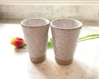 Tumblers // Set of 2 // Handmade // Pottery