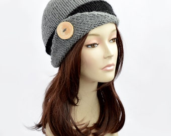 Lucy Hat, Womens Beanie, Bonnet Femme, Knit Beanie, Knitted Hat for Women
