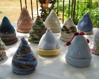 Crochet chapeau pointu