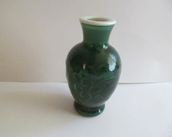 1981   Avon Spring Bouquet  Vase   6 3/4'' tall