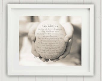 Christening Gift, Baptism Gift. Personalized Baptism Gift, Personalized Christening Gift, Unique New Baby Gift, Personalized Nursery Art