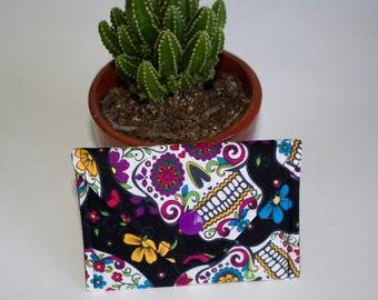 Black Sugar Skulls card case