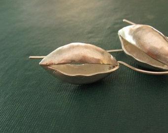 Inedible Fruit Silver Earrings