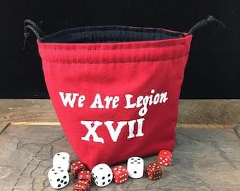 We Are Legion XVII Dice Bag