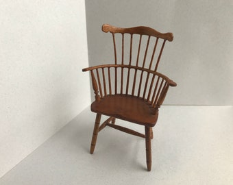 "1"" or 1/12 Scale Miniature Windsor Chair"