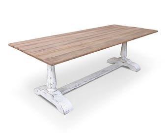 Farmhouse Table, Dining Table, Reclaimed Wood, Kitchen Table, Rustic, Handmade