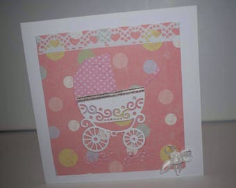 Greeting card- Congratulations  Welcome To The World New Arrival Baby Birthday Baby Shower Bundle