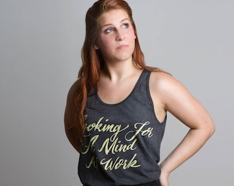 Looking for a Mind at Work Tank | Black