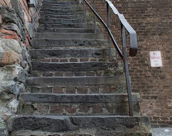 Stairs - Savannah, Georgia - Streets & Buildings - Digital Download
