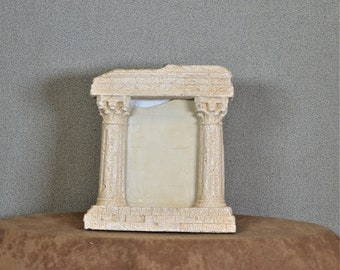 Parthenon Photo Frame 3 1/2 x 5 Photo Ancient Ruins Frame with Options on Glass