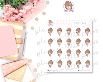 Planner Belle || Stationary Stickers, Planner Stickers