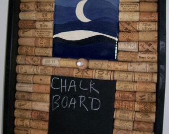 Chalk Board, Wine Corks, Cork Board, Midnight Blue, Chalkboard, Corkboard, ON SALE