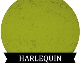 Matte Lime Green Eyeshadow  HARLEQUIN
