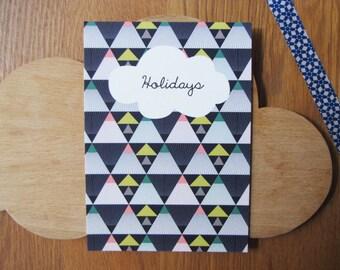 Nouveau! Carte postale Holidays