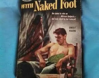 Vintage With Naked Foot Paperbook