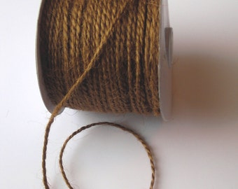 50 Yards of 2mm Sable Jute Twine
