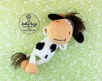 Cow Zuza - PDF crochet pattern