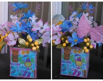 Tiki Flower arrangement