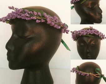 Lavender Flower Crown (Adult)