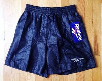vintage reebok swim trunks textured mens size large deadstock NWT 1993