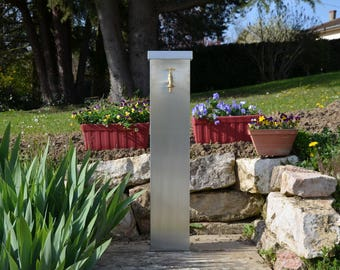 Fontaine de jardin zinc CAPUCINE Misterzinc