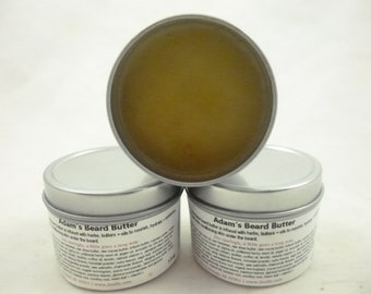 Adam's Beard Butter, beard butter, beard balm, antifungal beard butter, handmade beard balm, best beard butter,herbal beard balm,butter balm