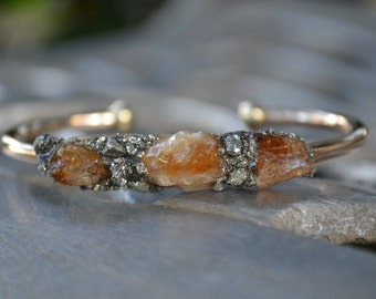 November Birthstone Jewelry, Citrine Birthstone, Birthstone Bracelet, Citrine Jewelry, November Birthday Gift, Gemstone Jewelry, Unique