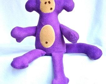 Monkey Me Purple