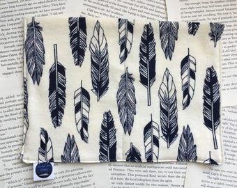 Medium Bag - Six of Crows/Poe Flannel Pattern