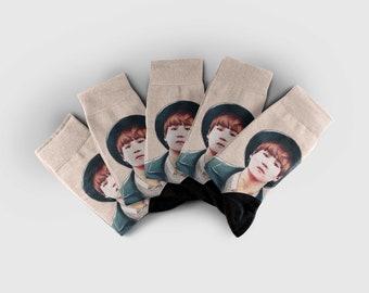 Bts, Bangtan boys, Bts sock, Bts socks, Custom socks, Printed socks