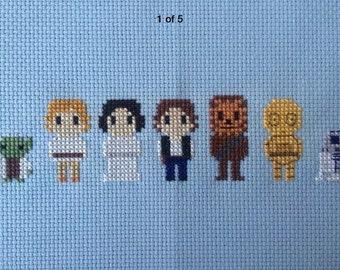 Star Wars Cross Stitch Piece