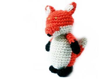 Fox Crochet Pattern - Fox Amigurumi Pattern