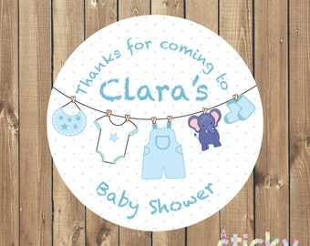 Personalized Baby Shower Stickers, Baby Shower Labels, Baby Shower Tags, Baby Shower Favours, Baby Sprinkle, Baby Shower, Baby Shower Favors