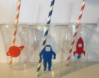 Astronaut Space Party Cups