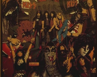Kiss Army 23x35 Next 20 Years Poster 1994 Gene Simmons