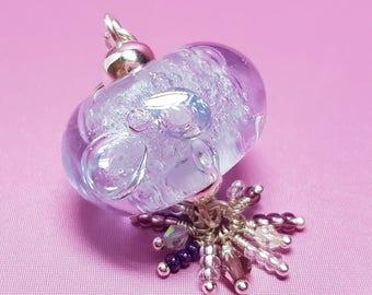 Lilac Bubbles Pendant