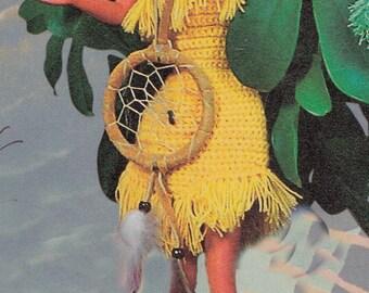 Disney Pocahontas dress crochet dress handmade dress for Pocahontas dolls clothes Disney doll clothes Disney  Princess Disney doll dress