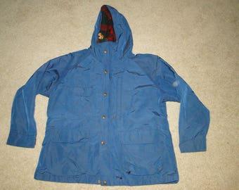 VINTAGE WOOLRICH wool & nylon Jacket Hooded Parka Sz XL womens