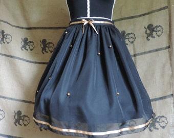 """Lolita skirt """"Night of stars"""""""