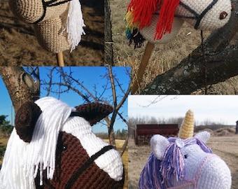 Hobby Horse Crochet Pattern