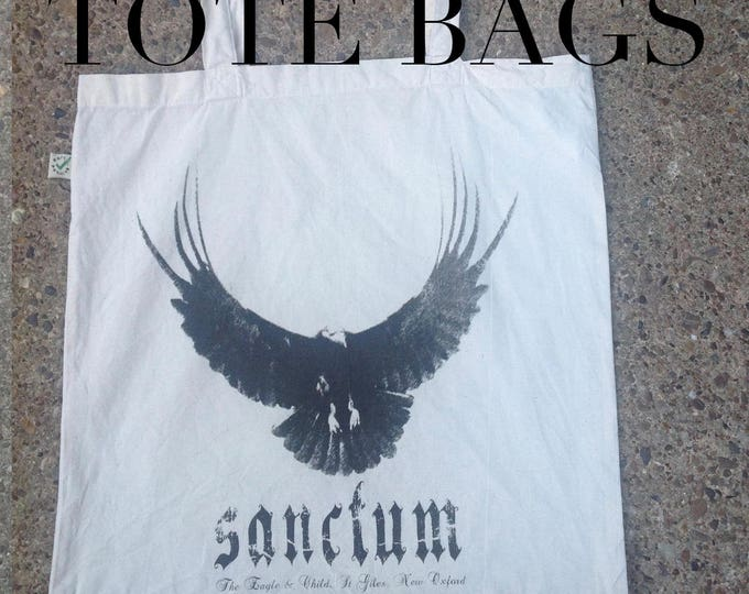 Tote Bag, gift for book lover, bookworm, Sanctum, based on the phoebe harkness books by James fay, hells teeth, Nameless City Apparel