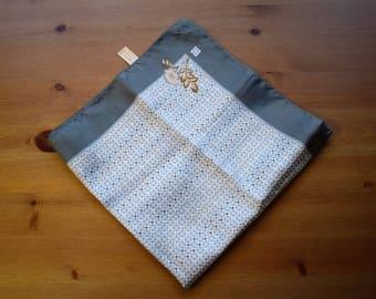 Vintage 1950's Allander polyester scarf