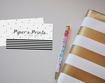 Custom Business Cards Printable, Printable business cards, Printable art, Professional design print