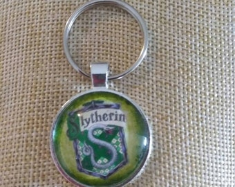 Potter gift , Potter necklace, magic, nerd gifts, wizard, witch, art pendant necklace keychain
