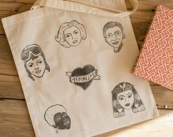 Tote bag | Shopping Bag | Wedding Bag | Cotton | Market | Feminism