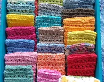 Soap sack/soap saver/soap saver bag/soap holder/spa soap sack/soap saver pouch/crochet soap sack/eco friendly/all natural soap sack/scrubby