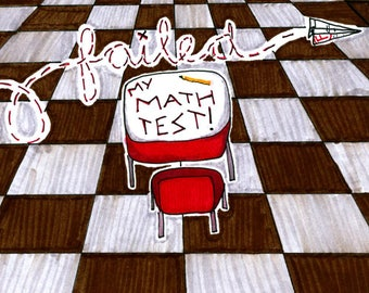 Failed My Math Test