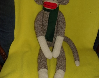 Original Red Heel Sock Monkey