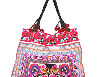 Large bag ethnic embroidery Asia