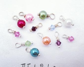 Add-On Swarovski Birthstone Crystal or Pearl